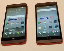 Lots of 2 HTC Desire 626s - 8GB - Grey Lava (MetroPCS) - Unlocked - Smartphone