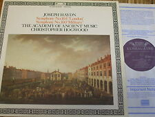 411 833-1 Haydn Symphonies Nos. 104 'London' & 100 'Military' / Hogwood / AAM