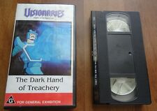 Visionaries Knights Of The Magic Light The Dark Hand Treachery VHS PAL VIDEO
