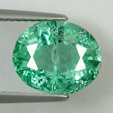"3.29ct RARE PARAIBA HUGE'"" BLUE GREEN NATURAL TOURMALINE EMIL CERTIFIED OVAL !"