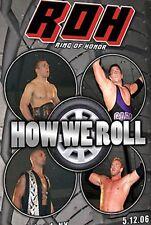 ROH Wrestling: How We Roll DVD, Christian TNA NWA WWE