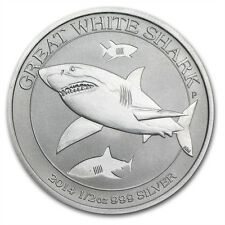 1/2 0,5 oz Perth Mint 999 Silber weisser Hai Australien Great White Shark NEU