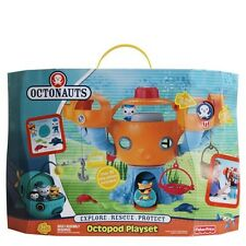 NEW Disney Jr Fisher-Price Octonauts Octopod Playset MIP – Factory Sealed