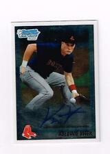KOLBRIN VITEK   2010 BOWMAN CHROME DRAFT PROSPECT AUTOGRAPHS AUTO RC RED SOX