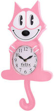 Pink Felix The Cat 3-D Motion Clock Toy