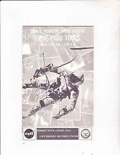 JOHNF KENNEDY SPACE CENTER TOUR--1967-- TRAVEL BROCHURE