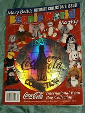 MARY BETH'S BEANIE WORLD MONTHLY MAGAZINE-ULTIMATE COLLECTOR'S ISSUE APRIL 1999