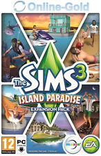 The Sims 3 - Island Paradise Key - PC Game - EA ORIGIN Code DLC Add-on [EU][UK]