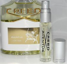 New AUTHENTIC Creed Aventus EDP for HER .13oz LARGE Glass Perfume Spray Sample