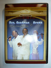 Ray, Goodman, & Brown The Moments Live In Concert DVD classic soul music RARE!