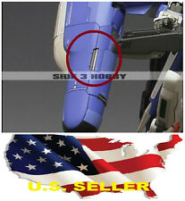 Metal Armor Detail Up 10mm metal bar for Sazabi ver Ka Unicorn MG HG PG Gundam
