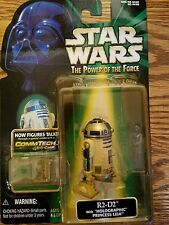 Star Wars R2-D2 HOLOGRAPHIC PRINCESS LEIA COMMTECH power of the force POTF potf2