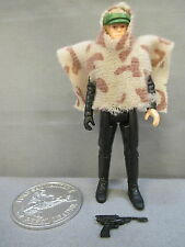 "Stars Wars 1985 ""LUKE SKYWALKER BATTLE PONCHO"" w/Coin C9+ Vintage POTF Kenner"