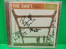 SIGNED CD The Swift Today 2004 Christian Pop Rock NM Flicker 2635 Autographed