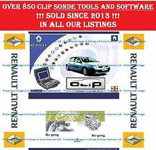 Renault CAN CLiP V166, Re-Prog V151, PIN Extractors 1&2, Radio Calculator
