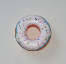 12 Vinyl Plastic Donut Toy Kid Party Decor Goody Loot Bag Filler Favor Supply