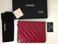 Chanel Quilted Case, Pouch, Clutch Bag- Paris Dallas Collection -NEW -2014