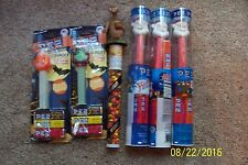 Lot of 10 PEZ Collectible Items - NEW