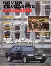 RTA revue technique automobile N° 578 MERCEDES BENZ C 200D 220 D 250 D 200