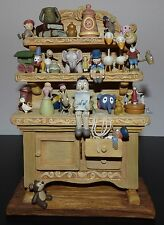 WDCC PINOCCHIO GEPPETTO'S TOY CREATIONS HUTCH WALT DISNEY FIGURINE