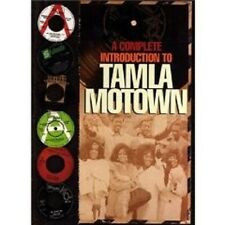 A COMPLETE INTRODUCTION TO TAMLA MOTOWN 4 CD SET NEU