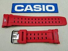 Genuine Casio G-Shock Mudman G-9000TLC Team Land Cruiser rubber watch band red