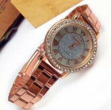 ROSE GOLD CRYSTAL LADIES WRIST WATCH FOR SALE WOMEN TREND GIFT