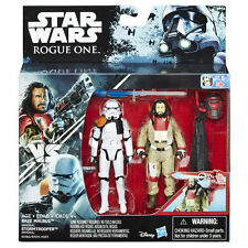STAR WARS ROGUE ONE BAZE MALBUS VS. IMPERIAL STORMTROOPER 2-PACK / 3,75""
