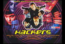 HACKERS Movie POSTER 27x40 B Felicity Huffman Jonny Lee Miller Angelina Jolie
