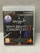 JEUX PS3 WHITE KNIGHT CHRONICLES II SANS NOTICE PLAYSTATION
