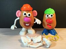 Vintage Mixed Lot Of Mr. Potato Head With Accessories Collectible Gift