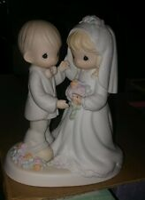 Enesco precious moments wedding figurine