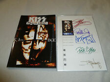 KISS PSYCHO CIRCUS BOOK 1 COMIC SIGNED BY BAND TODD MCFARLANE LIMITED 500 COA LE