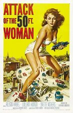 27x40 Attack of the 50 Foot Woman Movie Poster