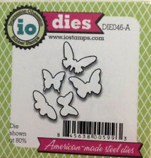 "Impression Obsession DIE046-A  ""Butterfly Set"" 1 Metal Dies NEW"