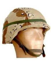 US Army PASGT 6 color Desert chocolate Helmet  Helm cover Cat eye Tarnbezug M/L
