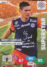 MHSC-13 REMY CABELLA # MONTPELLIER CARD ADRENALYN FOOT 2014 PANINI