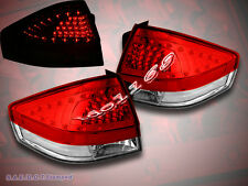 08-11 FORD FOCUS TAIL LIGHTS RED/CLEAR WITH LED BRAND NEW