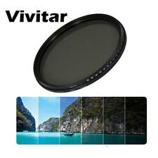 Vivitar 49mm Neutral Density Variable Fader NDX Filter ND2 to ND1000 Sony 55-210