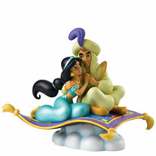 Disney A Whole New World Jasmine & Aladdin Figurine NEW in Gift Box - 27906