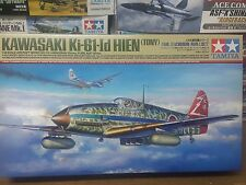 Tamiya 1/48 Kawasaki Ki-61-Id Hien Model Air Plane Kit #61115