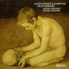 CD ALBAN GERHARDT / STEVEN OSBORNE - Shostakovich & Schnittke cello sonatas