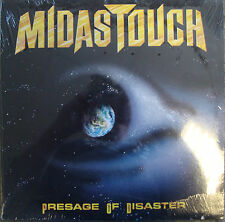 Midas Touch Presage Of Disaster 11 Track Vinyl LP Still Sealed