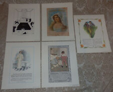 1997 Set of 5 Ivory Soap 100 Yr Anniversary Prints Procter & Gamble Reproduced