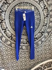 NWT  Adidas Chill Tight Women's Leggings - XS .. Blue Color. Free Ship