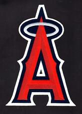 "MLB 9"" L A Angels Logo w/ Silver Halo Embroidered Iron-on Patch - Large 9"" - NEW"