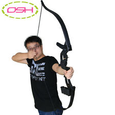 Traditional Bow Archery Recurve Longbow Hunting Leather Mongolian Takedown Sage