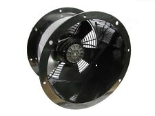 Industrial Commercial Cased Axial Extractor Fan 250mm (10 inch), 240V, 2300 rpm