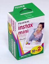 AU Fuji Instax Mini Film Plain White-Twin Pack (20pcs) For Mini 7 7s 8 10 20 25