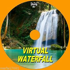 STUNNING VIRTUAL WATERFALL DVD VIDEO VIEW ON FLATSCREEN, PLASMA, LED TV/PC NEW